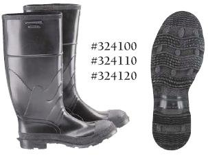 "16"" Steel Toe Kneeboot w/Cleated Sole"