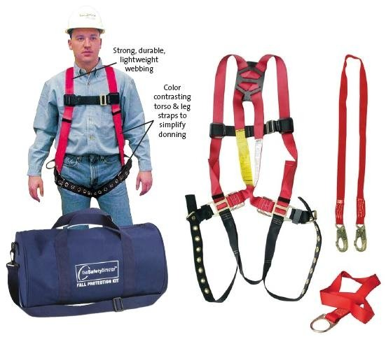 All-Inclusive Fall Protection Kit