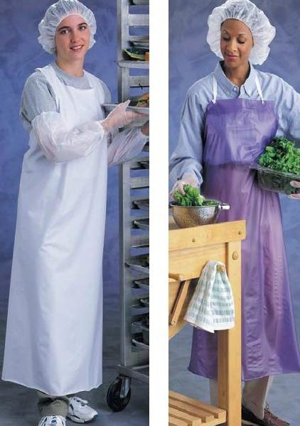 Ansell CPP Vinyl Aprons (6-mil)