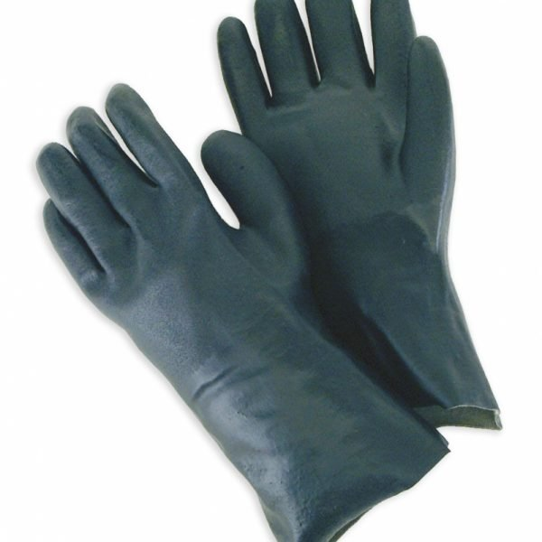 """Double Dipped PVC 12"""" Gauntlet Sandy Finish"""