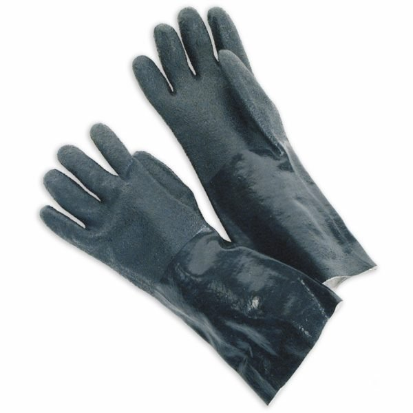 """Double Dipped PVC 14"""" Gauntlet Rough Finish"""