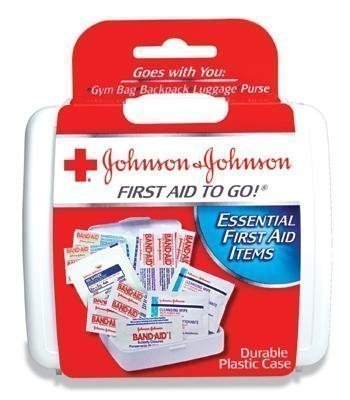 Johnson&Johnson Mini First Aid Kit - First Aid To Go