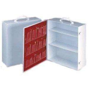 3-Shelf Metal Cabinet- Empty