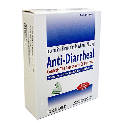 Anti-Diarrheal Tablets