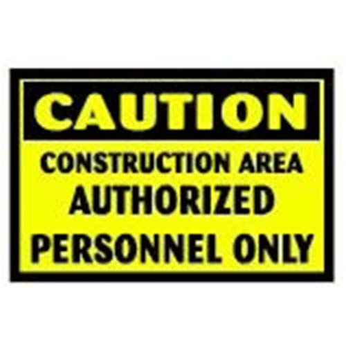 Construction Area Workplace Safety Sign