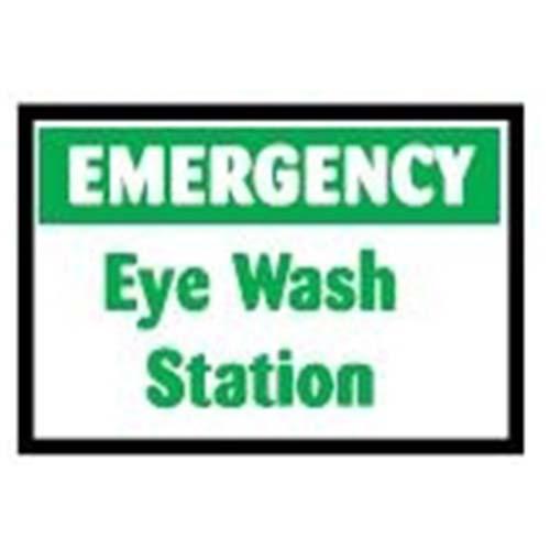 Eyewash Station Workplace Safety Sign