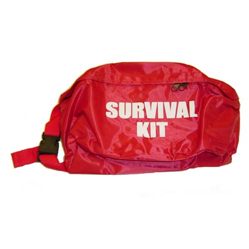 Fanny Pack - Red with Silkscreen