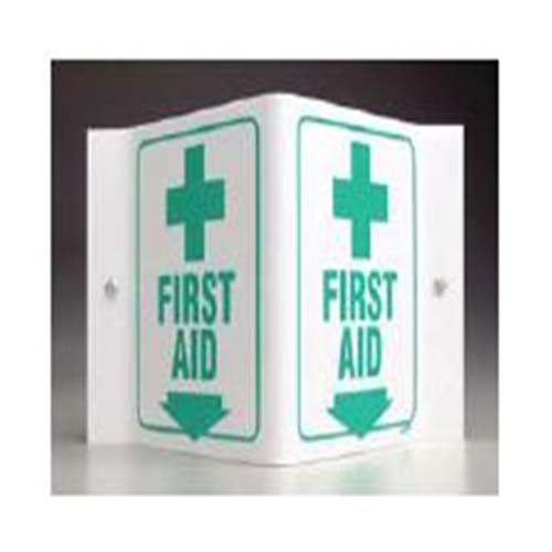 First Aid V Sign