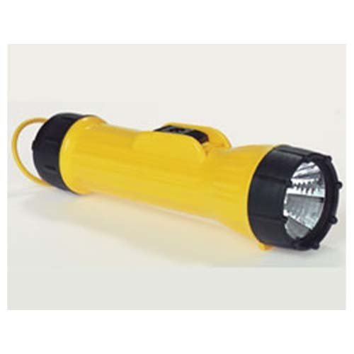 Flashlight - Yellow 2D-cell Industrial with Krypton Bulb