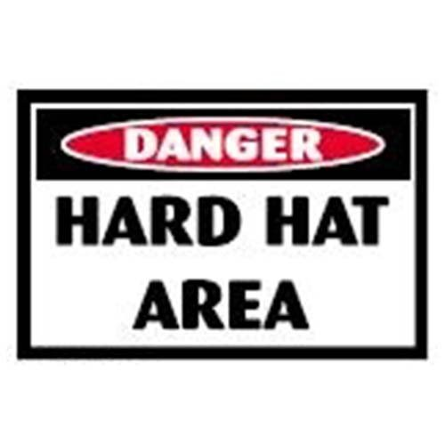 Hard Hat Area Workplace Safety Sign