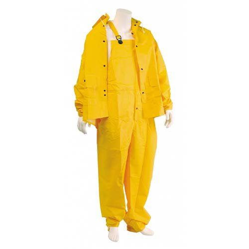 Rain Suit 0.35mm, 3 pc Suit, Full Feature, Rain Suits