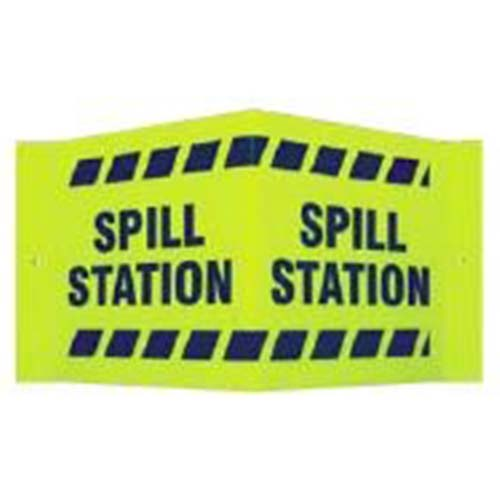 Spill Station V Sign