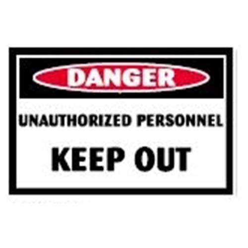 Unauthorized Personnel