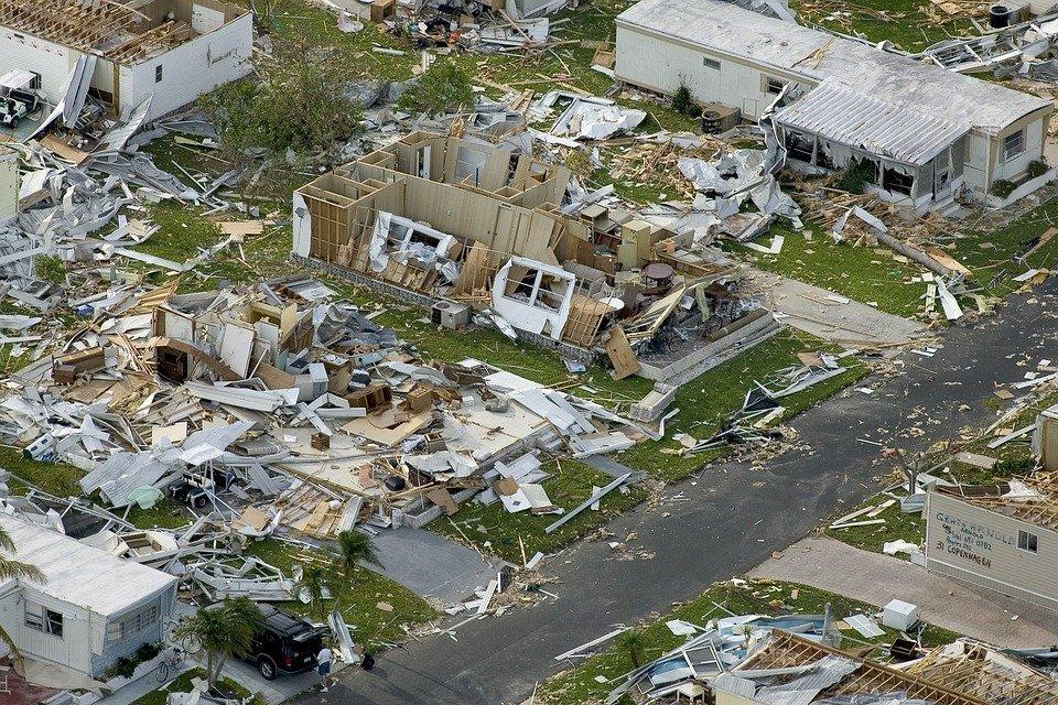 tornado disaster area